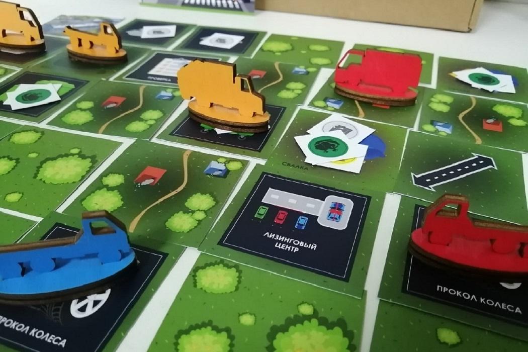Игровое поле Экоматики состоит из 65 ячеек с нетривиальными задачами
